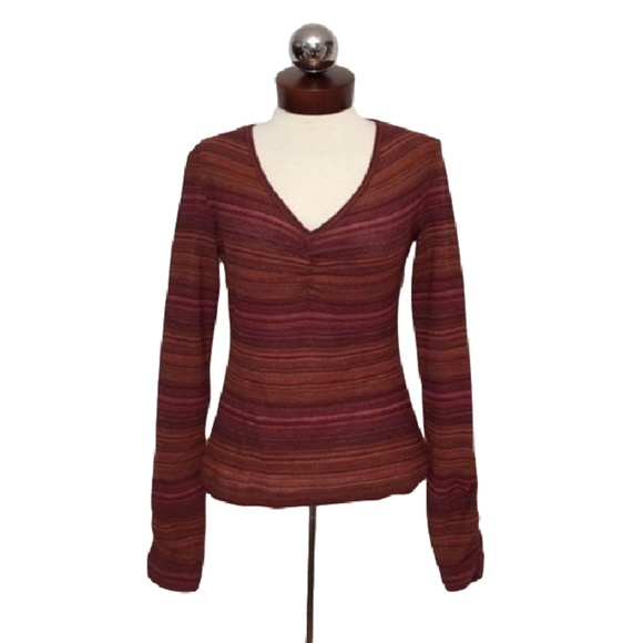 Missoni Sweaters - M MISSONI $495 striped lightweight sweater IT 44 M
